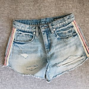 blanc nyc denim shorts